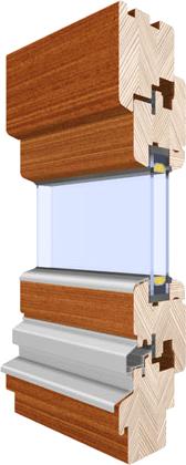 okna drewniano aluminiowe - Słowińscy