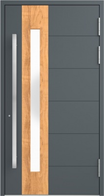 Drzwi zewnętrzne aluminiowe AB1