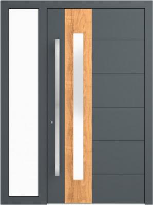 Drzwi zewnętrzne aluminiowe AB1 Fix L