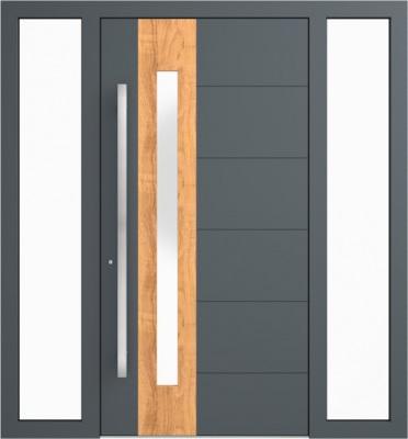 Drzwi zewnętrzne aluminiowe AB1 Fix L P
