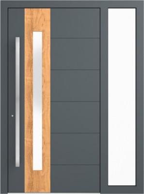 Drzwi zewnętrzne aluminiowe AB1 Fix P