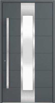 Drzwi zewnętrzne aluminiowe AB5