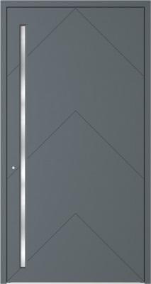 Drzwi zewnętrzne aluminiowe AB7