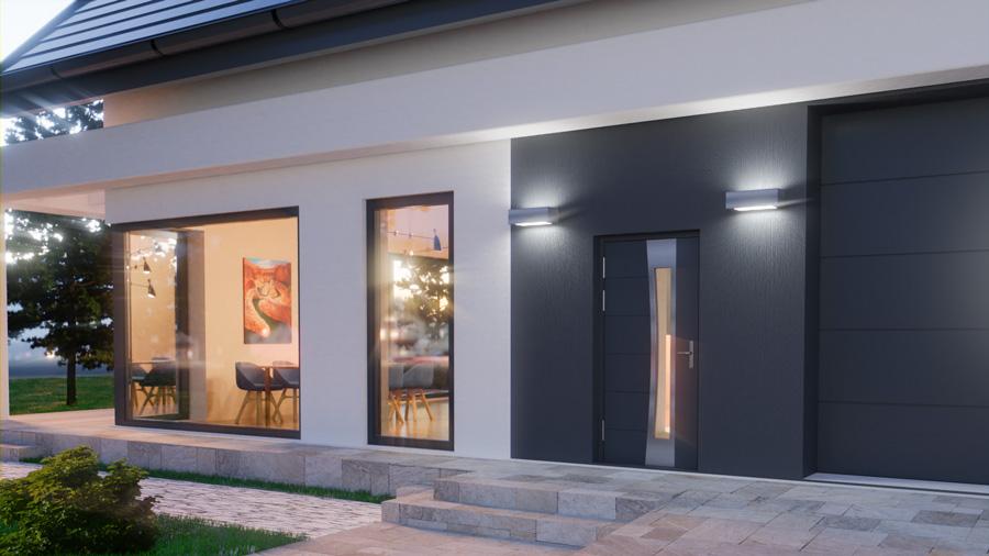 drzwi zewnętrzne aluminiowe Abakus
