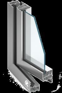 okna aluminiowe Aluprof MB45